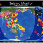 世界地図で地震発生状況を俯瞰したい