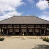 奈良時代の金堂が現存する唐招提寺